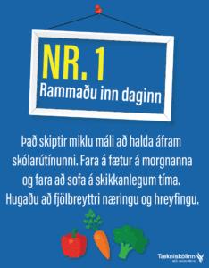 Námstækni - heilræði nr.1.